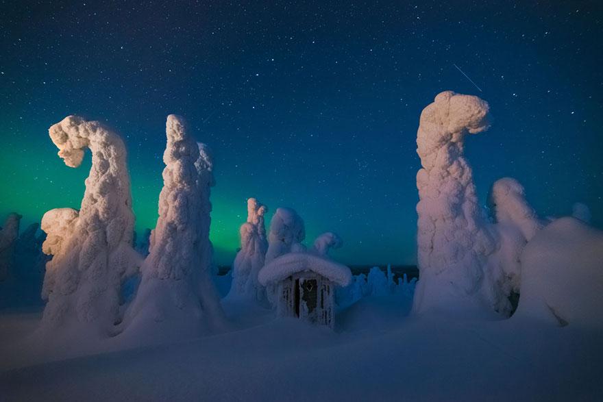 Мистическая избушка, Финляндия, конкурс фотографий National Geographic трэвел-фотограф года 2016