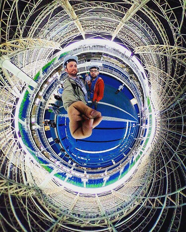 Олимпийский водный стадион в Рио-де-Жанейро, фото 360 градусов