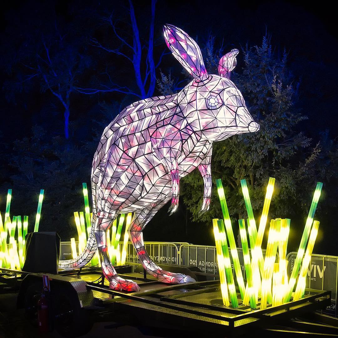 Vivid 2016 Фестиваль света в Сиднее, Австралия