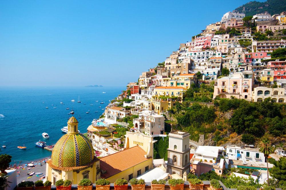 Позитано, побережье Амальфи, Италия