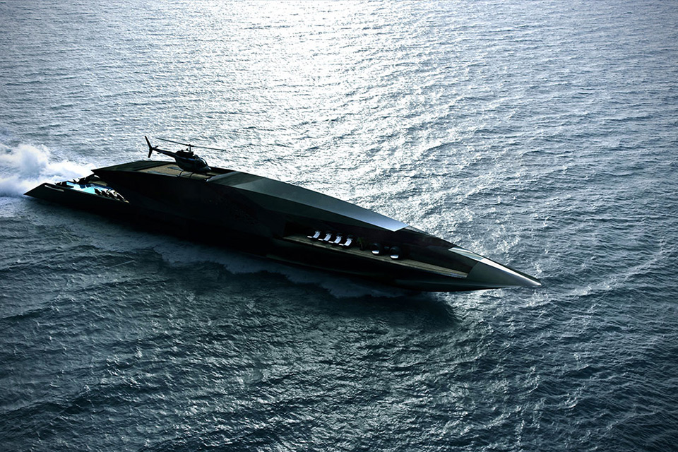 Black Swan Superyacht Concept