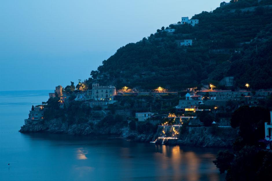Hotel Palazzo Avino night view