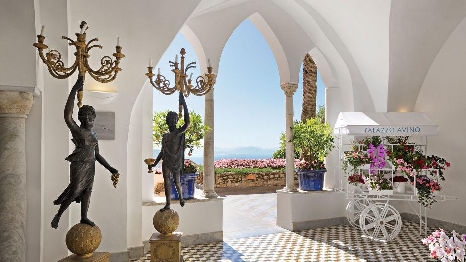 Hotel Palazzo Avino lobby place
