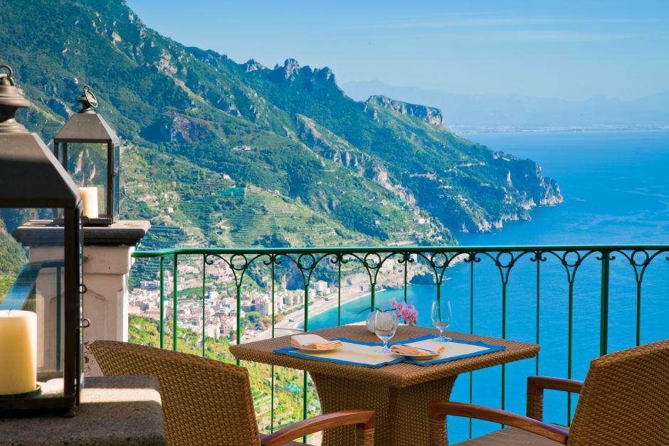 Hotel Palazzo Avino restaurant