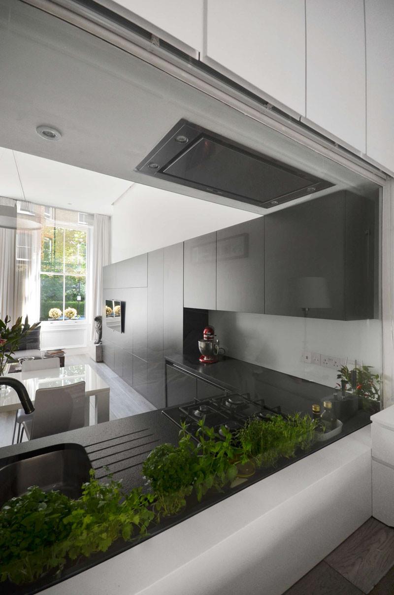 Стиль минимализм в интерьере лондонской квартиры