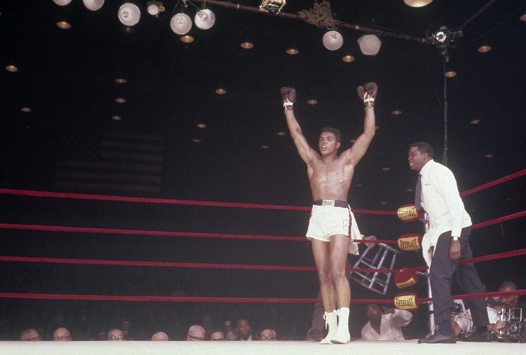 Победа над Сонни Листоном. Майами, 25 февраля 1964 г.