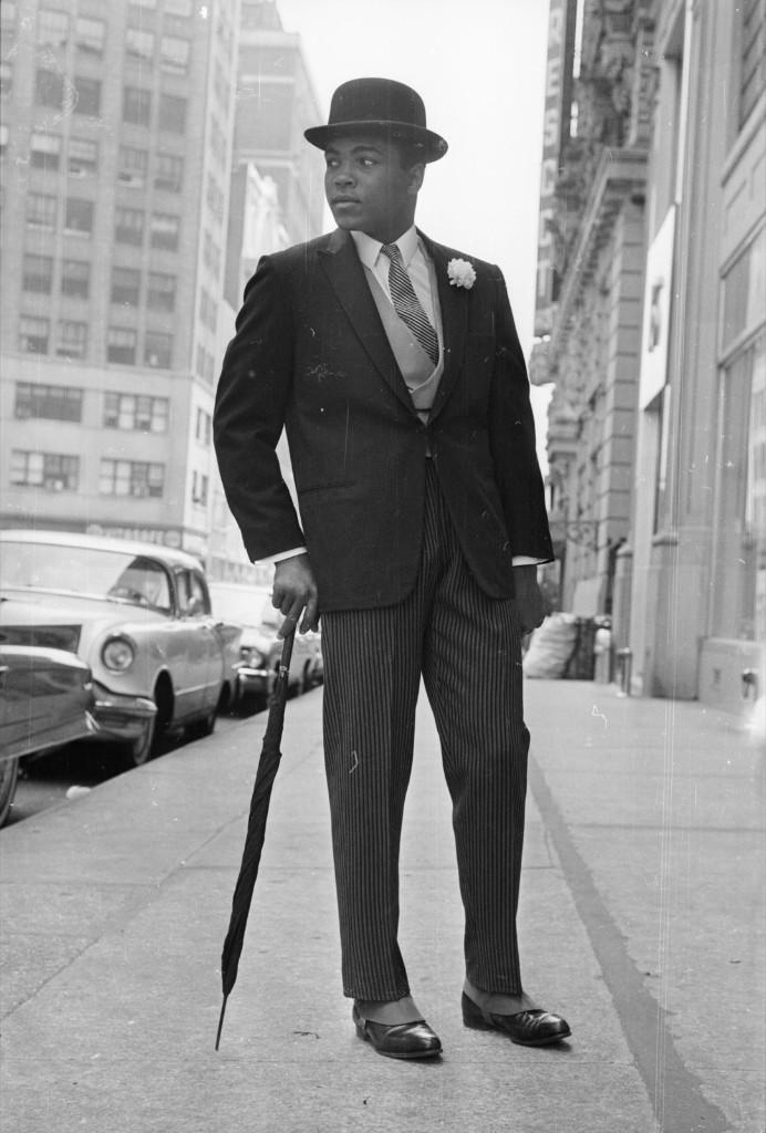 Кассиус Клей в Нью-Йорке, май 1963