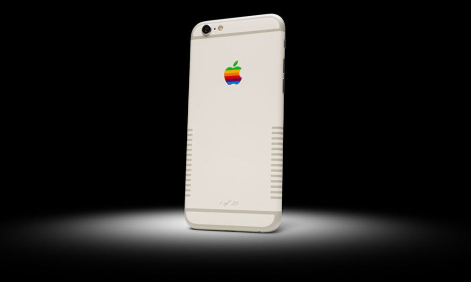 iPhone 6s special edition inspired by the Apple IIE