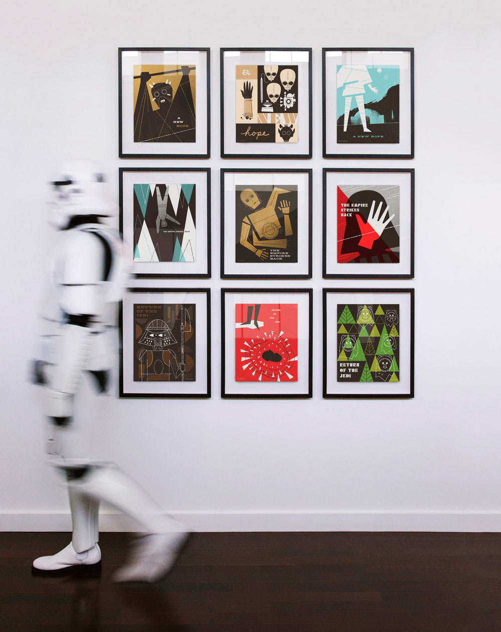 Star Wars Storm trooper&posters by Ty Mattson