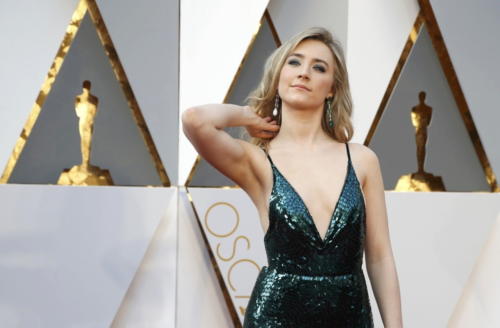 Saoirse Ronan, nominated for Best Actress