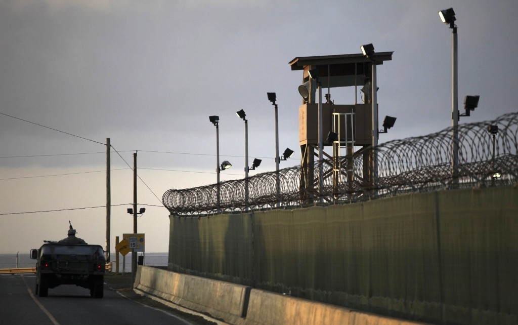 View of the detention facility at Guantanamo Bay