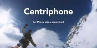 Centriphone - An iPhone video experiment