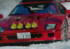 Takeshi Kimura. A Day In The Life Snow Camp feat. Ferrari F40