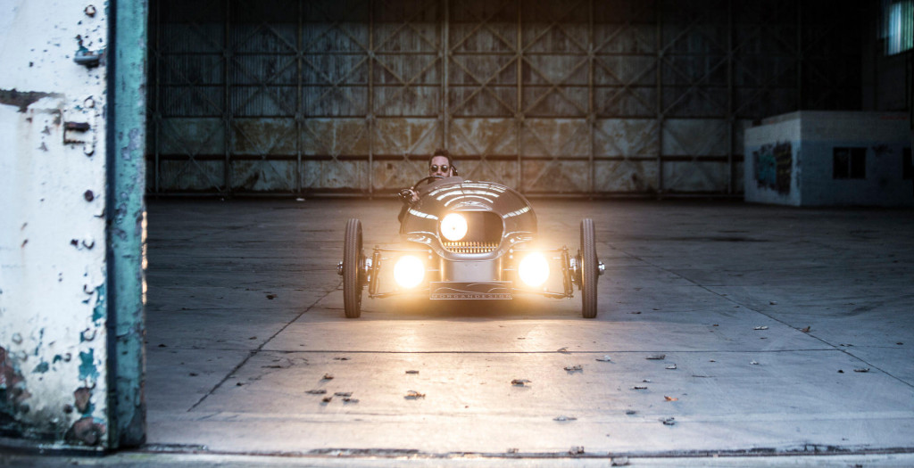The Morgan EV3 All Electric Car