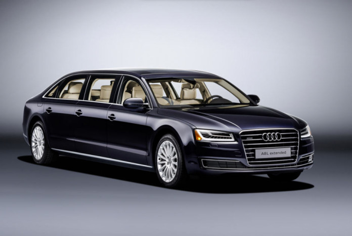 Шестидверный лимузин Audi Giant Six-Door A8