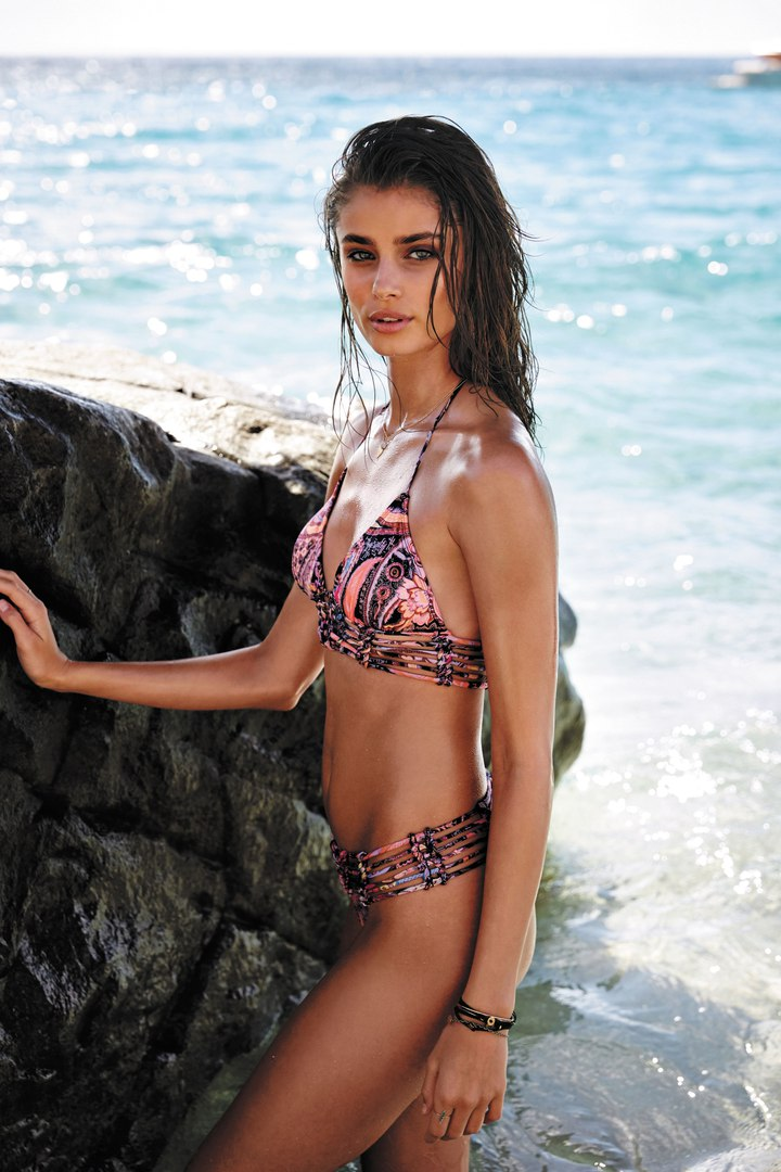 Taylor Marie Hill Victoria's Secret Model at St. Barth