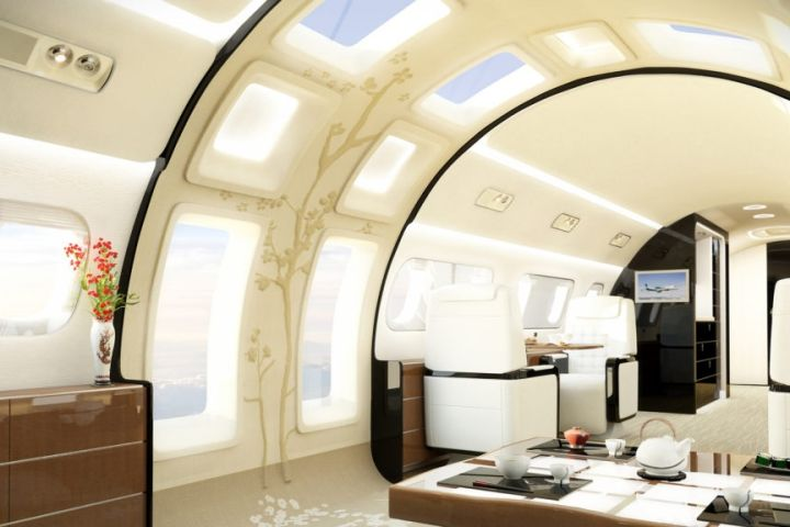 Embraer Lineage 1000 Has Windows the Size of a Door