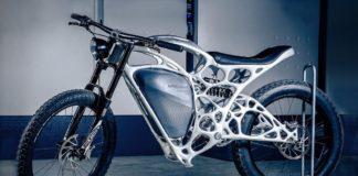 Light Rider 3D printed Motorcycle