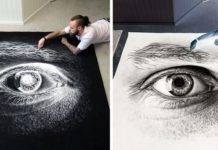 Salt Drawings by Dino Tomic